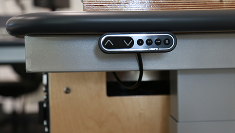 Sonifex electrical switch for desk
