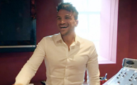 Peter Andre at Magic FM radio Station